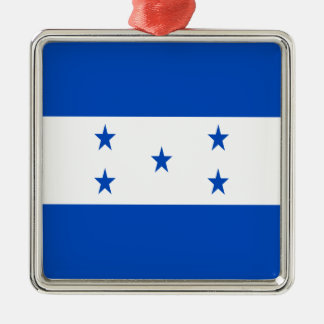 Niedrige Kosten! Honduras-Flagge Silbernes Ornament