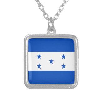 Niedrige Kosten! Honduras-Flagge Versilberte Kette