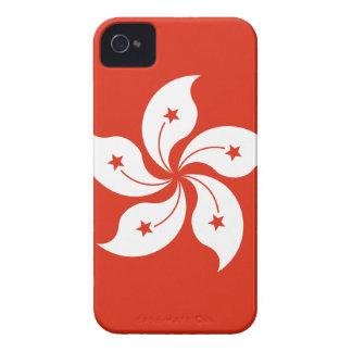 Niedrige Kosten! Hong Kong-Flagge iPhone 4 Case-Mate Hülle