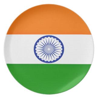 Niedrige Kosten! Indien-Flagge Melaminteller