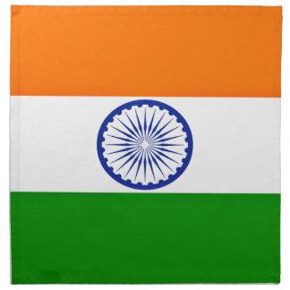 Niedrige Kosten! Indien-Flagge Stoffserviette