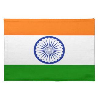 Niedrige Kosten! Indien-Flagge Stofftischset