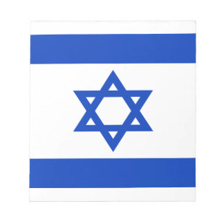 Niedrige Kosten! Israel-Flagge Notizblock
