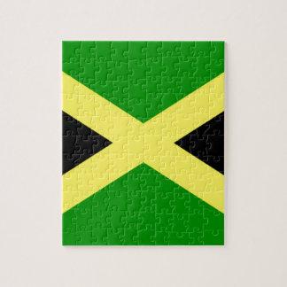 Niedrige Kosten! Jamaika-Flagge Puzzle