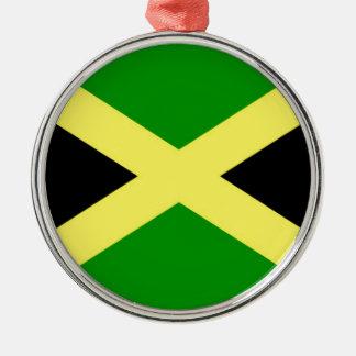 Niedrige Kosten! Jamaika-Flagge Silbernes Ornament