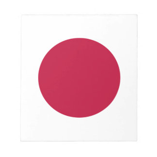 Niedrige Kosten! Japan-Flagge Notizblock