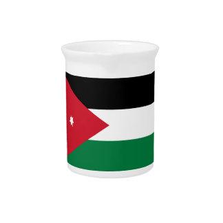 Niedrige Kosten! Jordanien-Flagge Getränke Pitcher