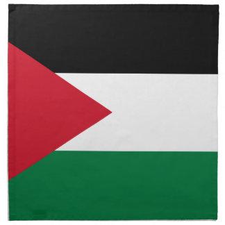 Niedrige Kosten! Jordanien-Flagge Stoffserviette