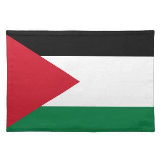 Niedrige Kosten! Jordanien-Flagge Stofftischset