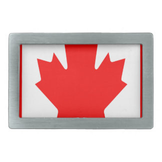 Niedrige Kosten! Kanada-Flagge Rechteckige Gürtelschnallen