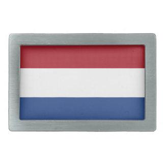 Niedrige Kosten! Karibische niederländische Flagge Rechteckige Gürtelschnalle