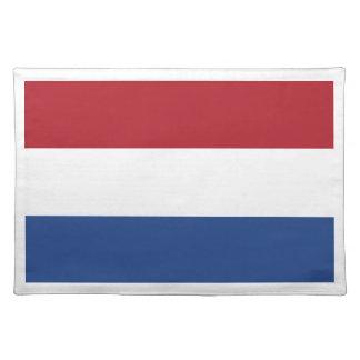 Niedrige Kosten! Karibische niederländische Flagge Stofftischset