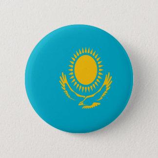 Niedrige Kosten! Kasachstan-Flagge Runder Button 5,1 Cm