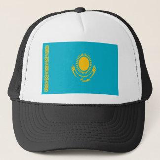 Niedrige Kosten! Kasachstan-Flagge Truckerkappe
