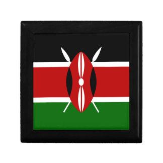 Niedrige Kosten! Kenia-Flagge Schmuckschachtel