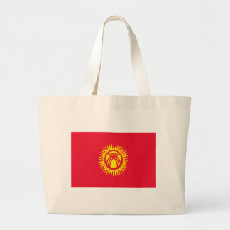 Niedrige Kosten! Kirgisistan-Flagge Jumbo Stoffbeutel