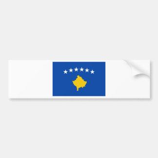 Niedrige Kosten! Kosovo-Flagge Autoaufkleber