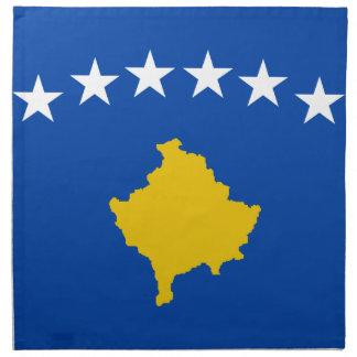 Niedrige Kosten! Kosovo-Flagge Serviette