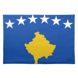 Niedrige Kosten! Kosovo-Flagge Tischset