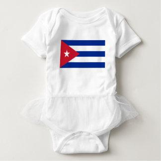 Niedrige Kosten! Kuba-Flagge Baby Strampler