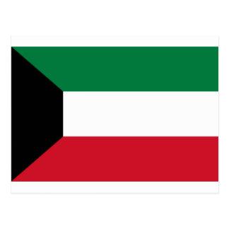 Niedrige Kosten! Kuwait-Flagge Postkarte