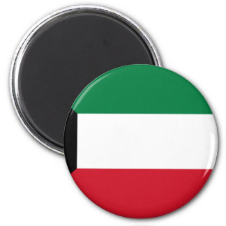 Niedrige Kosten! Kuwait-Flagge Runder Magnet 5,7 Cm