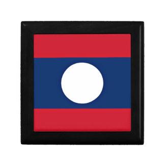 Niedrige Kosten! Laos-Flagge Schmuckschachtel