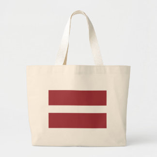 Niedrige Kosten! Lettland-Flagge Jumbo Stoffbeutel