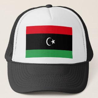 Niedrige Kosten! Libyen-Flagge Truckerkappe