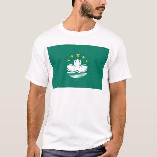 Niedrige Kosten! Macao-Flagge T-Shirt