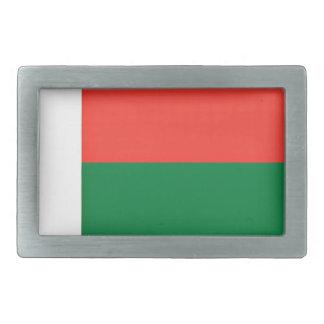 Niedrige Kosten! Madagaskar-Flagge Rechteckige Gürtelschnallen