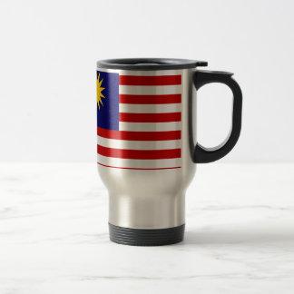 Niedrige Kosten! Malaysia-Flagge Reisebecher