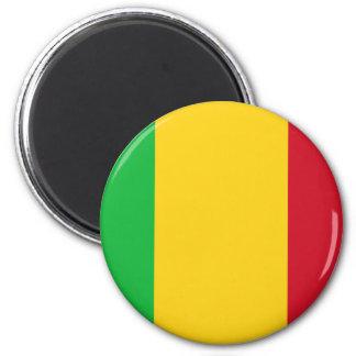 Niedrige Kosten! Mali-Flagge Runder Magnet 5,1 Cm