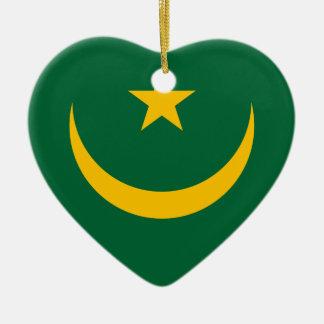 Niedrige Kosten! Mauretanien-Flagge Keramik Ornament