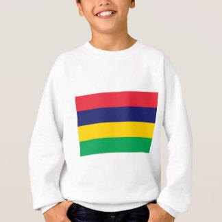 Niedrige Kosten! Mauritius-Flagge Sweatshirt