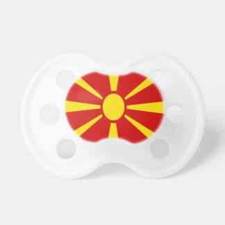 Niedrige Kosten! Mazedonien-Flagge Schnuller