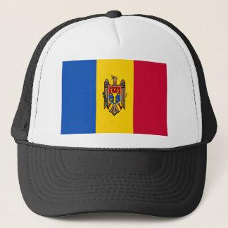 Niedrige Kosten! Moldau-Flagge Truckerkappe