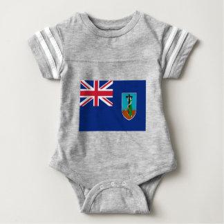 Niedrige Kosten! Montserrat-Flagge Baby Strampler