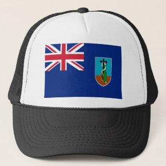 Niedrige Kosten! Montserrat-Flagge Truckerkappe
