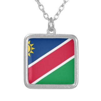 Niedrige Kosten! Namibia-Flagge Versilberte Kette