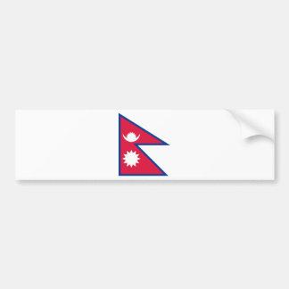 Niedrige Kosten! Nepal-Flagge Autoaufkleber