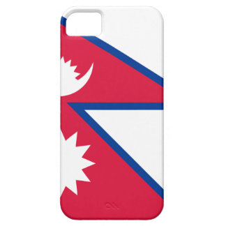Niedrige Kosten! Nepal-Flagge iPhone 5 Cover
