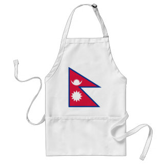 Niedrige Kosten! Nepal-Flagge Schürze