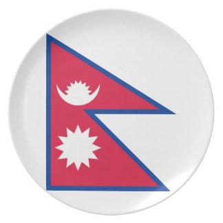 Niedrige Kosten! Nepal-Flagge Teller