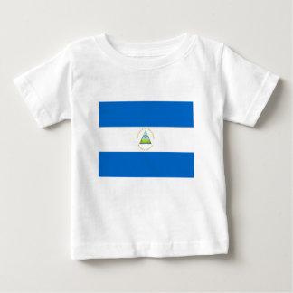 Niedrige Kosten! Nicaragua-Flagge Baby T-shirt