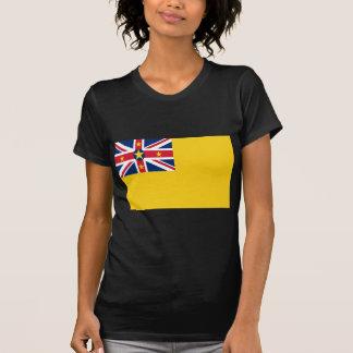 Niedrige Kosten! Niue Flagge T-Shirt