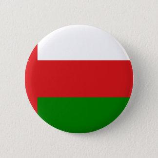 Niedrige Kosten! Oman-Flagge Runder Button 5,1 Cm
