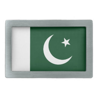 Niedrige Kosten! Pakistan-Flagge Rechteckige Gürtelschnallen