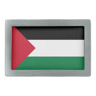 Niedrige Kosten! Palästina-Flagge Rechteckige Gürtelschnalle