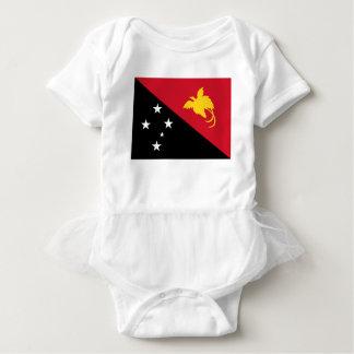 Niedrige Kosten! Papua-Neu-Guinea Flagge Baby Strampler